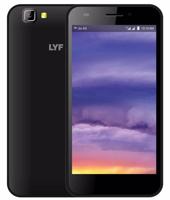 LYF Wind 5 (Black, 8 GB)(1 GB RAM)