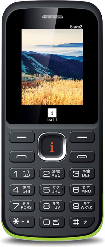 iBall Sumo Star 2.8H Dual Sim(Black, Green)