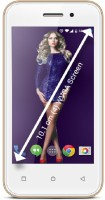 Zen Mobile Phones, Tablets - Zen Admire Curve 4 GB with Free Back Cover (Champagne Gold, 4 GB)(512 MB RAM)