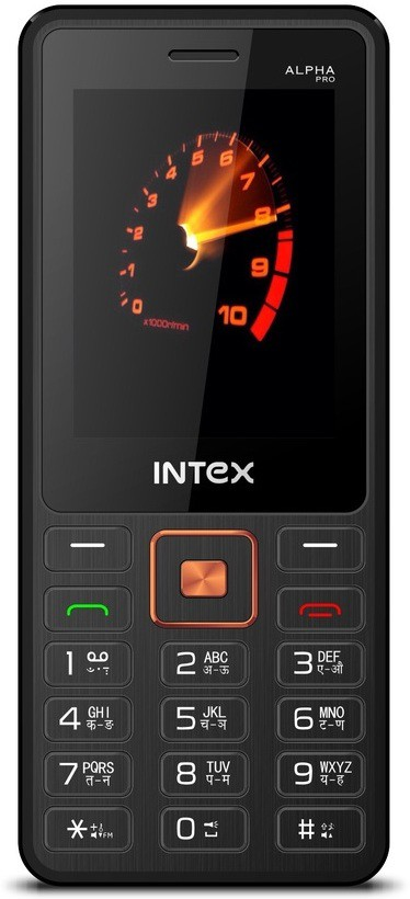 Intex Alpha Pro(Black, Champagne)