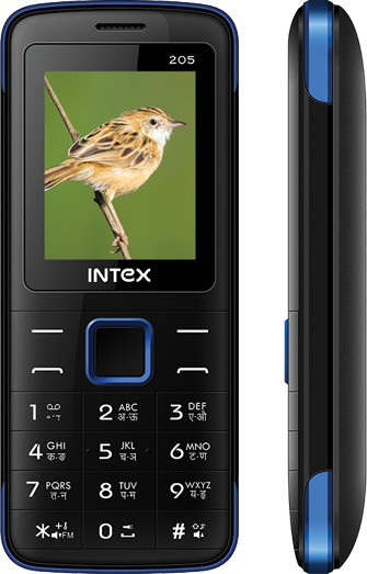 Intex Eco 205(Black)