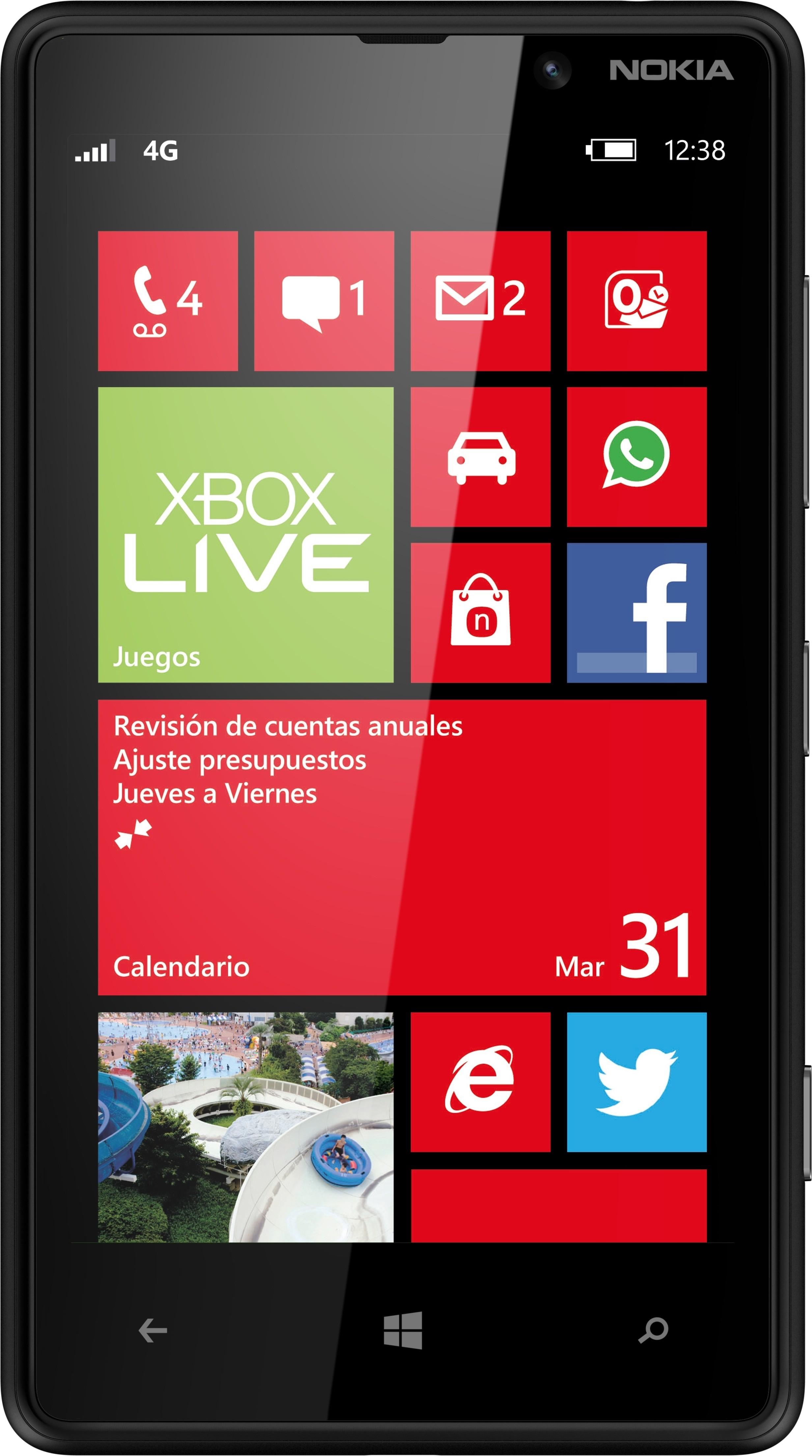 Nokia Lumia 820 (1GB RAM, 8GB)