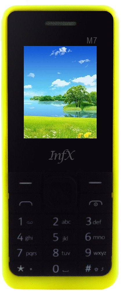 Infx M7(Yellow & Black)
