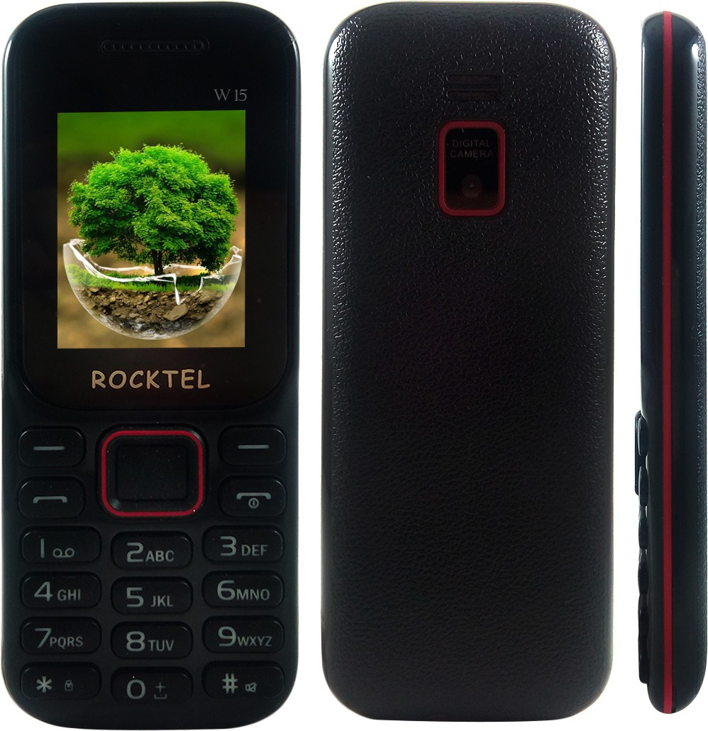 Rocktel W15(Black & Red)