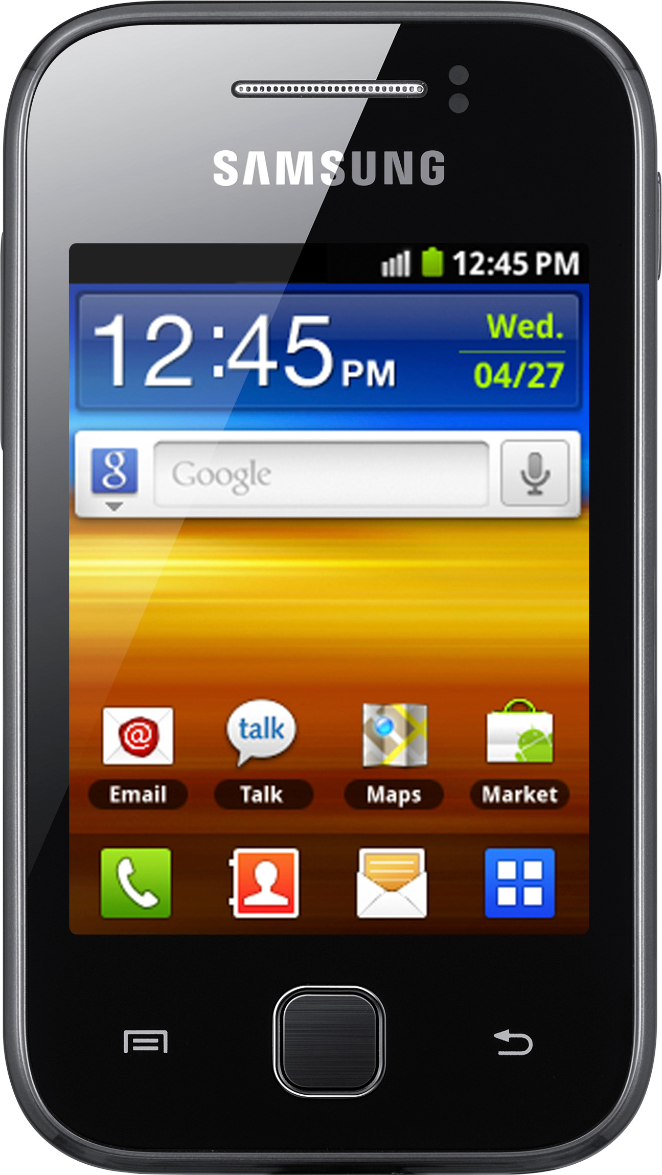 Samsung Galaxy Y S5360 (160MB RAM, 2GB)