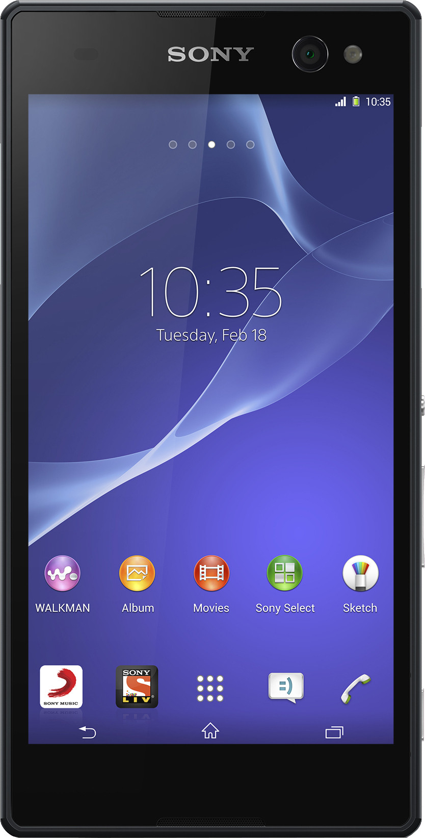 Sony Xperia C3 (Starry Black, 8 GB)(1 GB RAM)