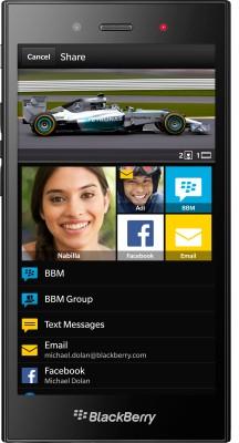 Blackberry Z3 (Black, 8 GB)