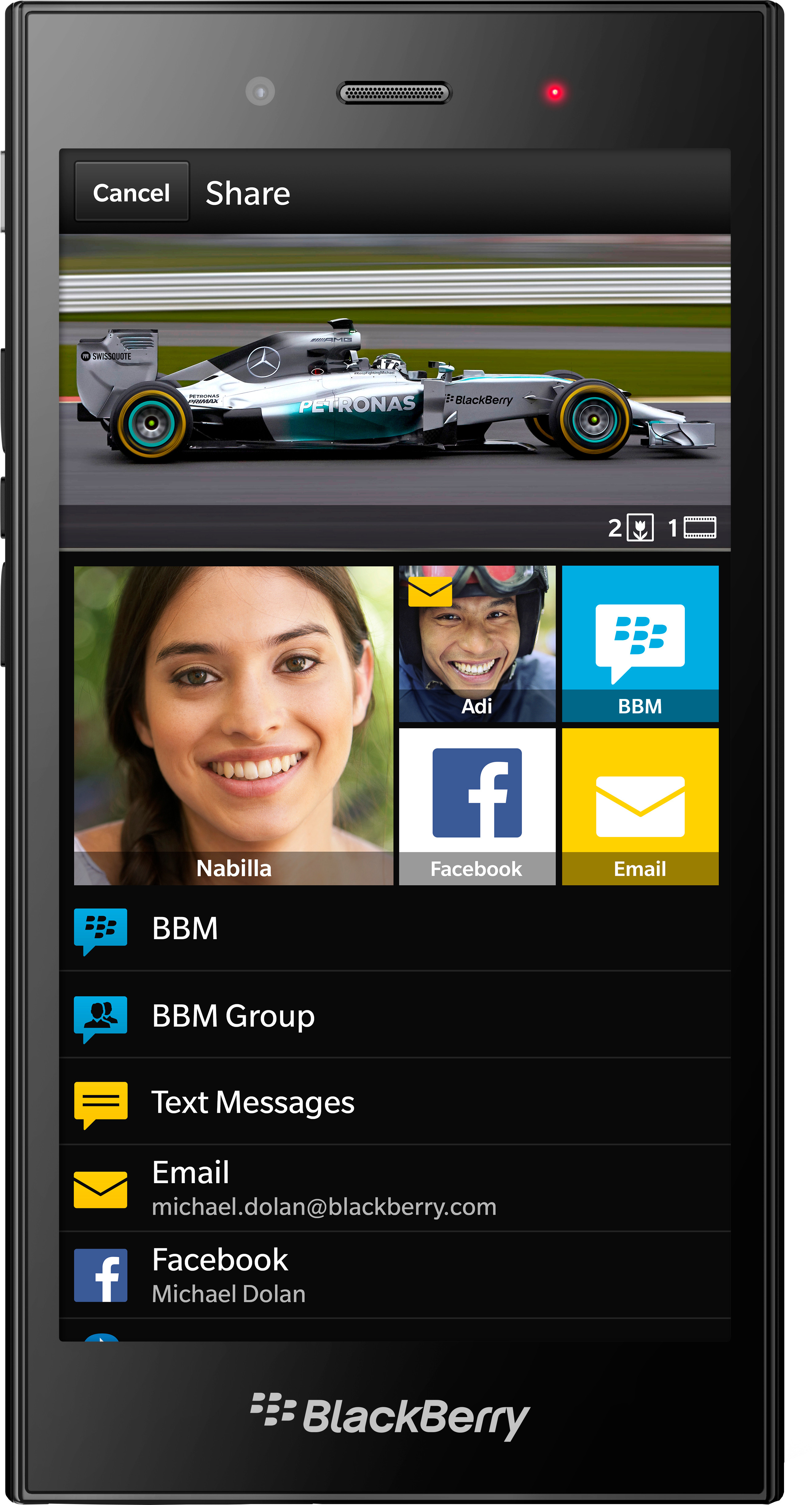 Blackberry Z3 (1.5GB RAM, 8GB)