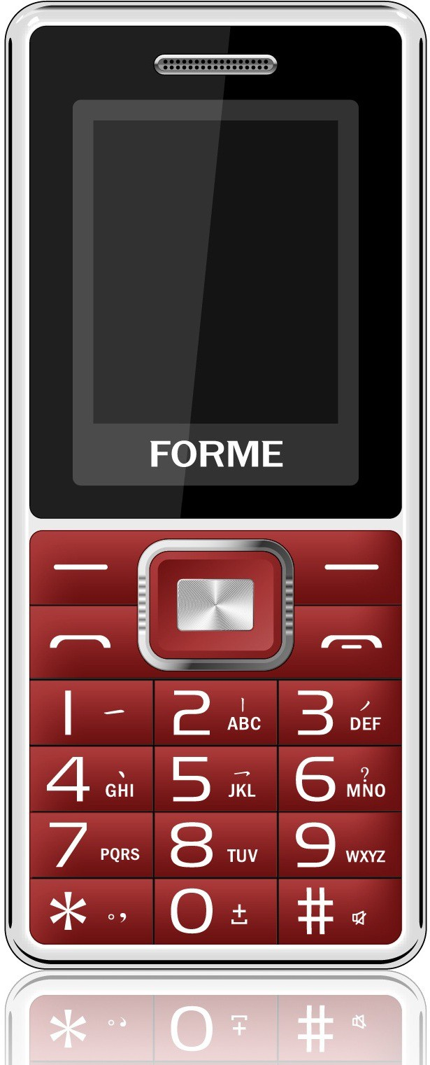 Forme D8(Red & Silver)