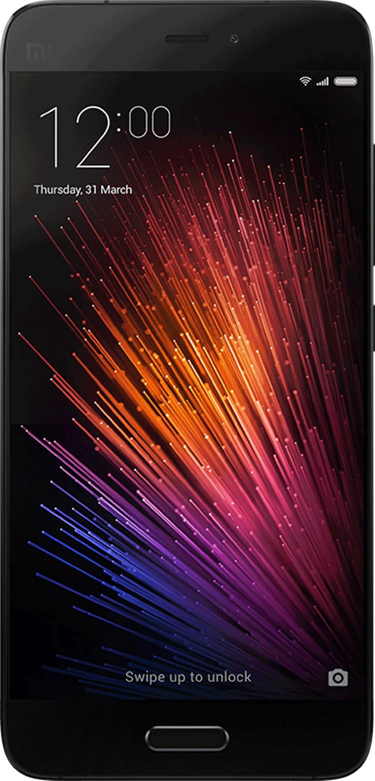 Mi 5 (Black, 32 GB)(3 GB RAM)