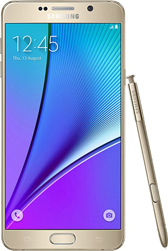 SAMSUNG Galaxy Note 5 64GB Single Sim - Gold (Gold, 64 GB)(4 GB RAM)