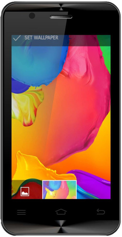 Karbonn ALFA A90 3G (BLACK AND SILVER, 512 MB)(256 MB RAM)