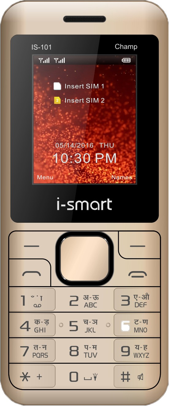 i-Smart IS-101-Champ(Champagne and Black)