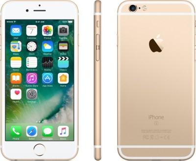 Apple iPhone 6s (Gold, 16 GB)(2...