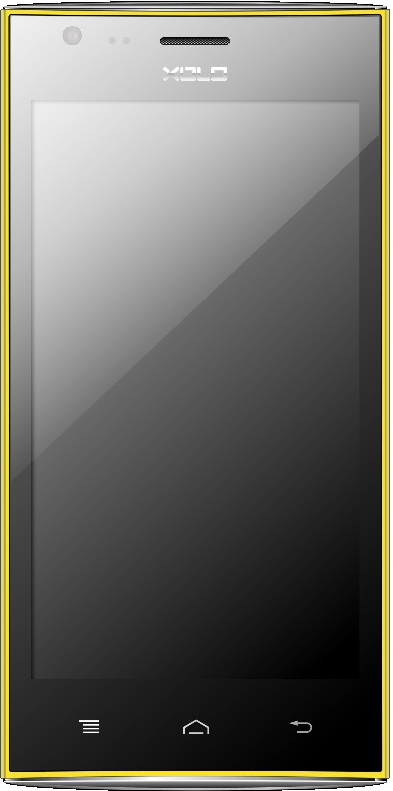 XOLO A600 (Yellow, 4 GB)(512 MB RAM)