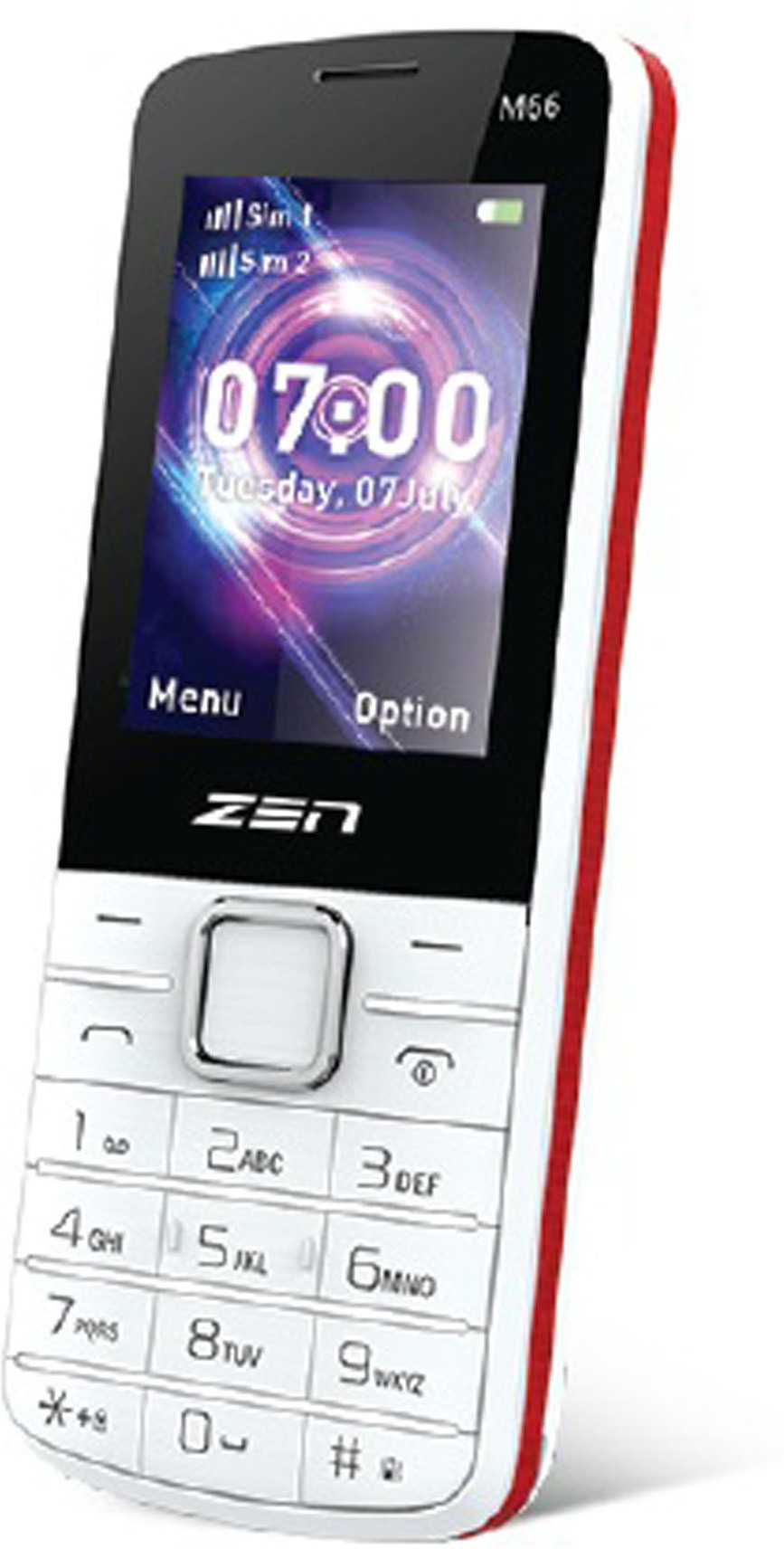 Zen M66(White, Red)