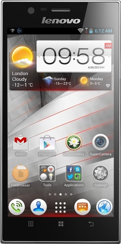 Lenovo K900 (Steel Grey, 16 GB)(2 GB RAM)