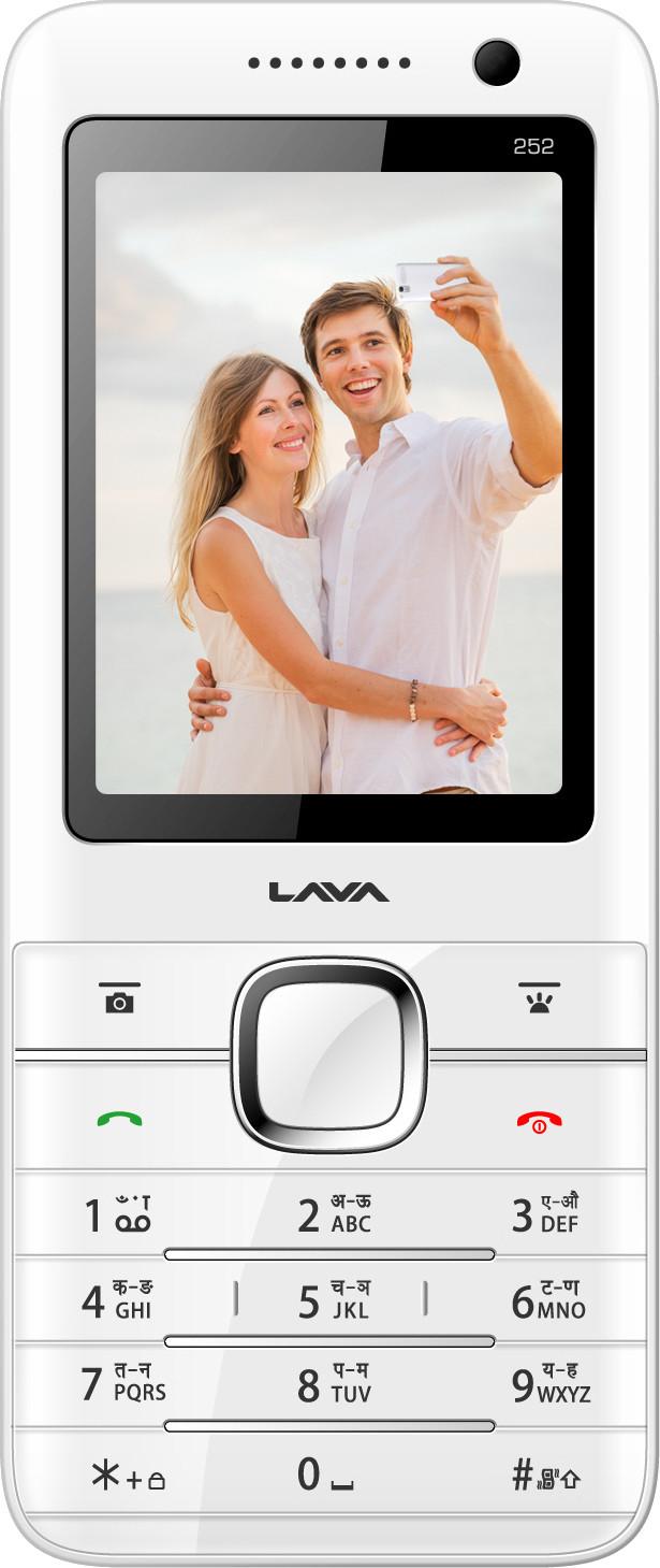 Lava Spark 252(White)