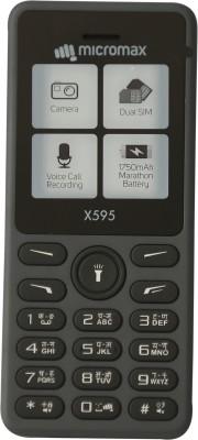 Micromax X595(Grey)