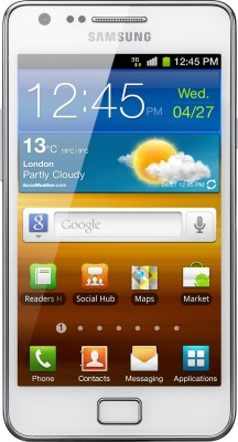 SAMSUNG Galaxy S II (Ceramic White, 16 GB)
