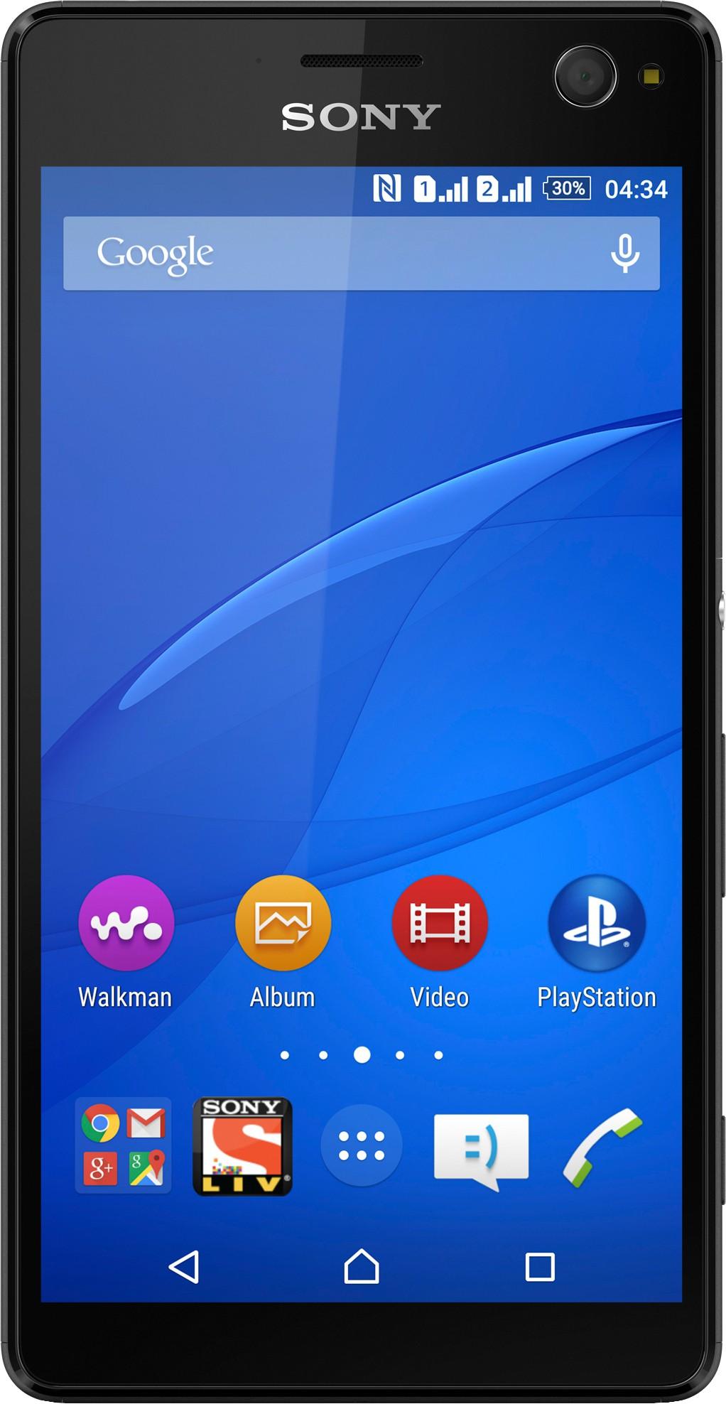 Sony Xperia C4 Dual (Black, 16 GB)(2 GB RAM)