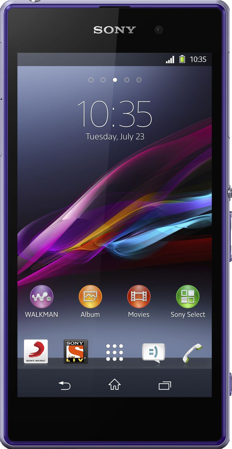 Sony Xperia Z1 (Purple, 16 GB)(2 GB RAM)