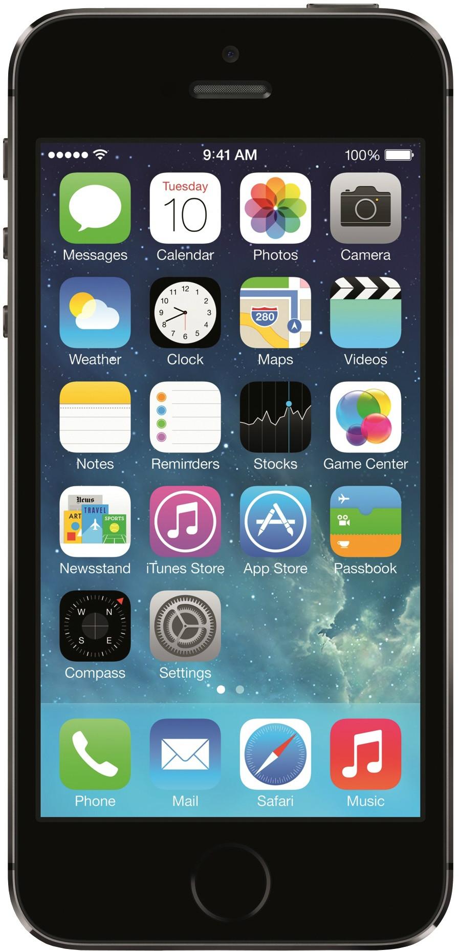 Apple iPhone 5s (Space Grey, 16 GB)(1 GB RAM)