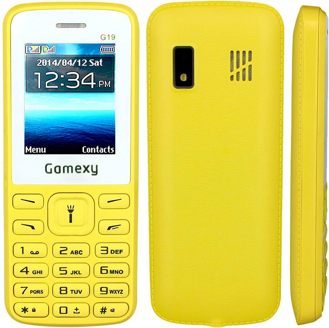 Gamexy G19(Yellow)