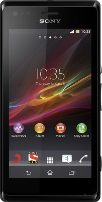 Sony Xperia M (Black, 4 GB)