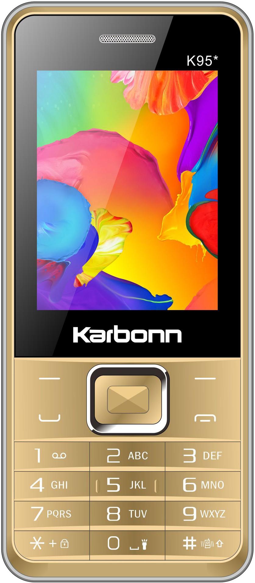 Karbonn K95 Star(Silver & Gold)