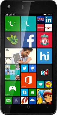 XOLO Win Q900s (Black, 8 GB)(1 GB RAM) at flipkart