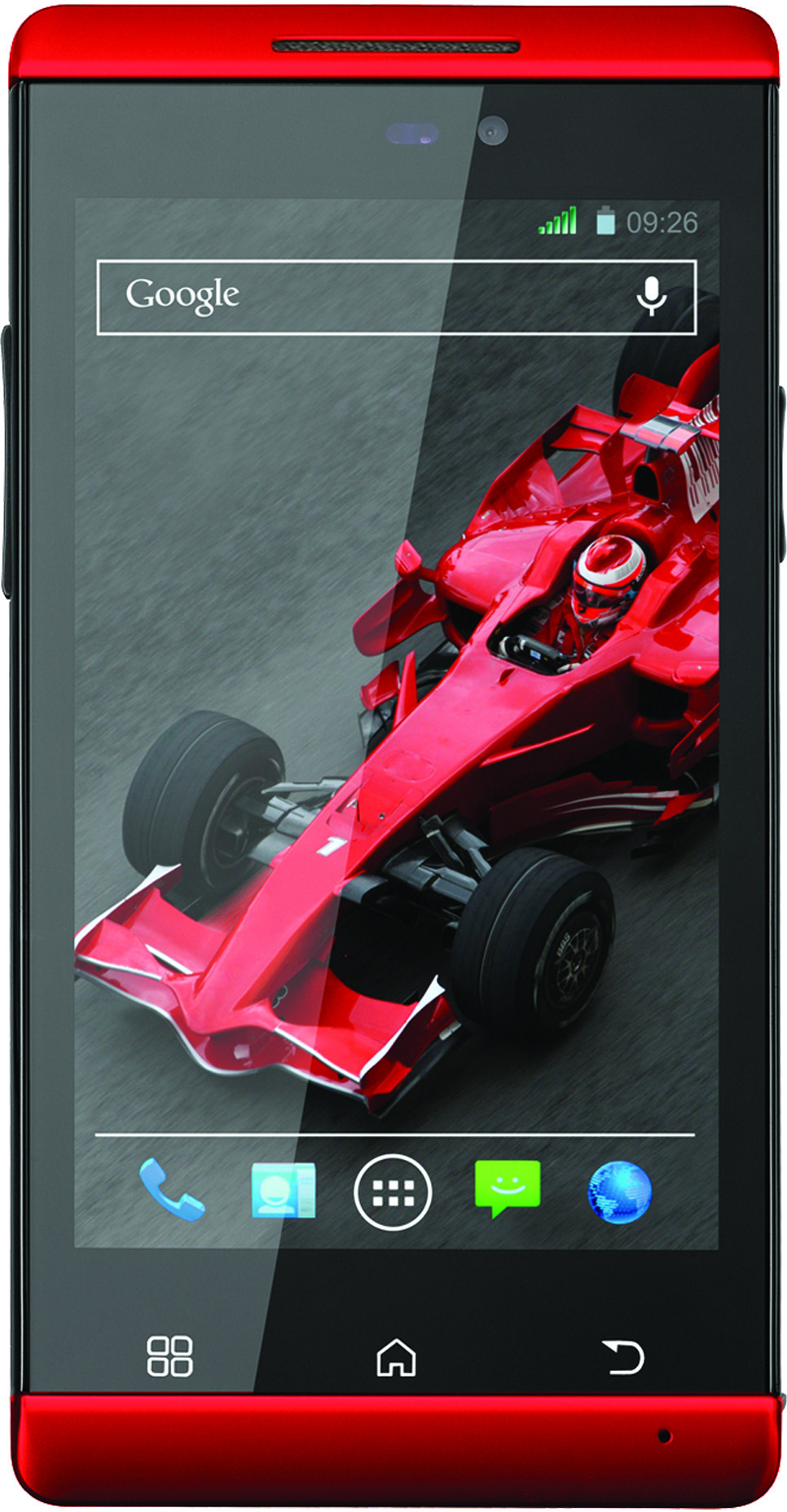 XOLO A500S IPS (Red, 4 GB)(512 MB RAM)