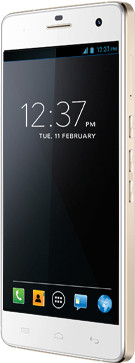 Micromax Canvas Knight A350 (White and Gold, 26.5 GB)