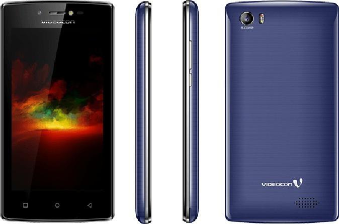 Videocon Graphite V45GD (Black & Blue, 8 GB)(1 GB RAM)