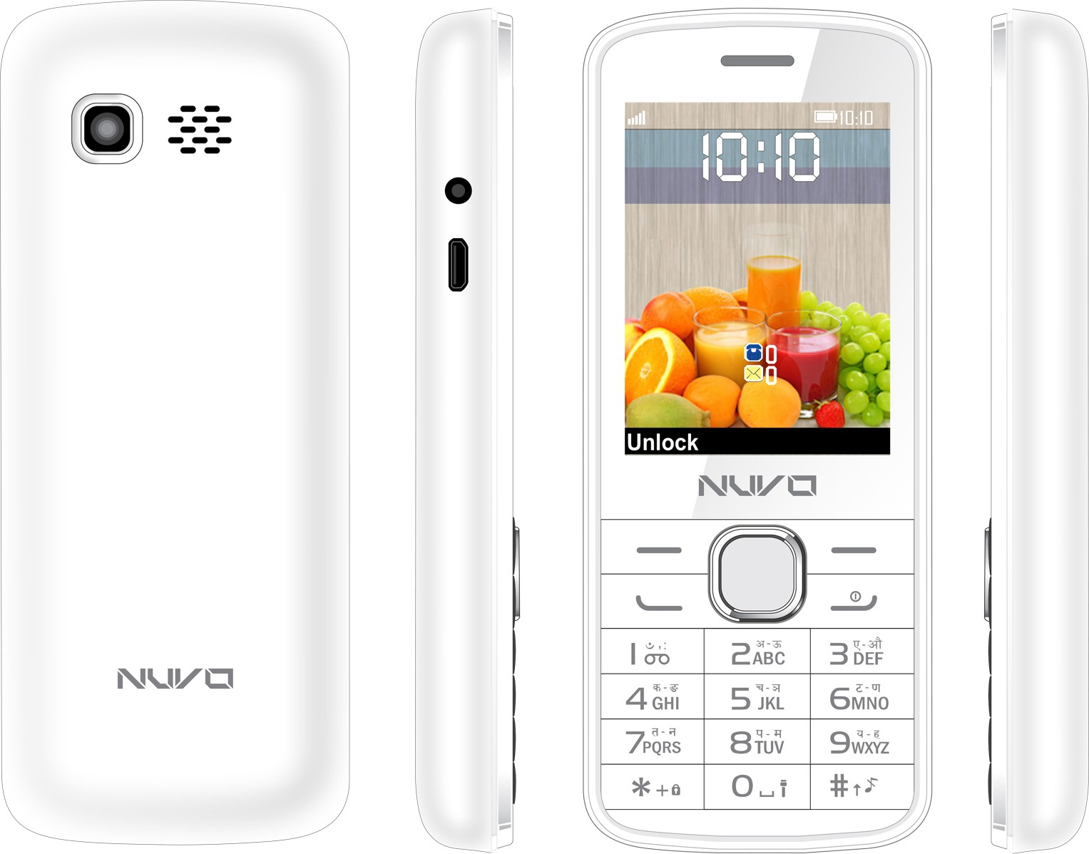Nuvo Flash(White)