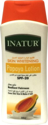 Inatur Herbals Papaya Lotion SPF 20