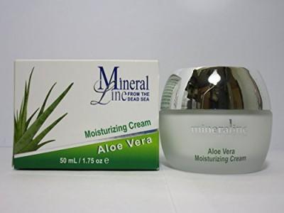Mineral Line Aloe Vera, Facial Moisturizer, Moisture Cream, / 1.75