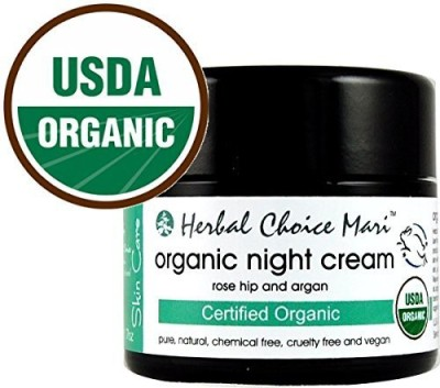 Herbal Choice Mari Organic Night Cream / 1.7 Jar