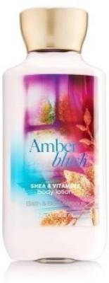 Kodiake bath & body works amber blush shea & vitamin e lotion 8 oz