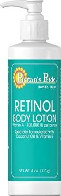 Puritan's Pride retinol body lotion (vitamin a 100,000 iu per ounce)-4 oz. lotion