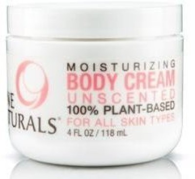 Nine Naturals Unscented Moisturizing Body Cream