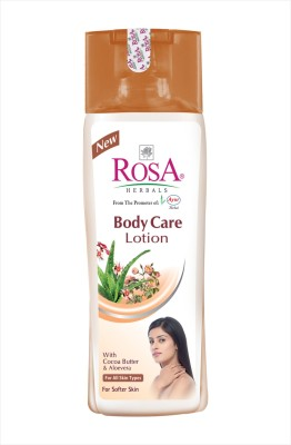 Rosa Herbals Body Care Lotion