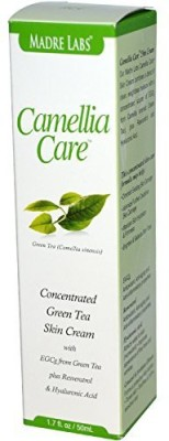 Madre Labs Camellia Care, EGCG Green Tea Skin Cream plus Resveratrol and Hyaluronic Acid