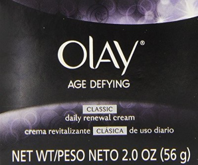 Olay Age Defying Classic Daily Renewal Cream Facial Moisturizer (Pack of 2)
