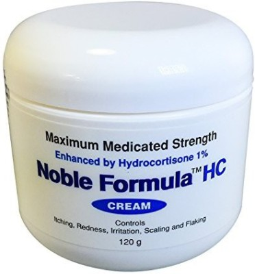 Noble Formula Hydrocortisone Cream with Pyrithione Zinc (Znp) .25% EnhancedHydrocortisone 1%, 4 ( )
