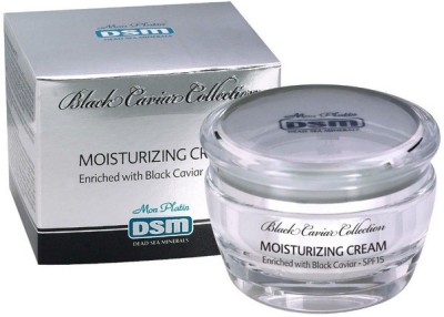 Dead Sea Minerals Moisturizing Cream Enriched with Black Caviar-SPF15