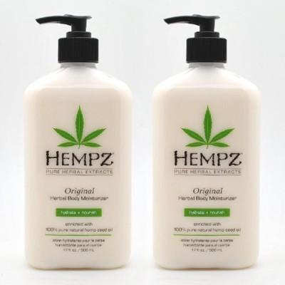Hempz Herbal Moisturizer 2 Pack