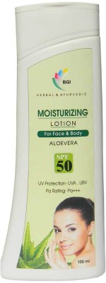 BGI Herbal & Ayurvedic Moisterizer Lotion Aloe Vera