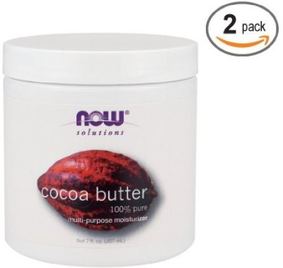 NOW Foods Cocoa Butter (100% Pure) - (Pack Of 2)