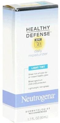 Neutrogena Healthy Defense Daily Moisturizer, SPF 30, Light Tint s (Pack of 2)